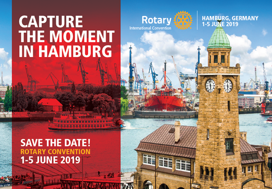 Rotary Convention Hamburg – 01/05 Giugno 2019